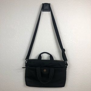 Kate Spade computer bag- black and gold